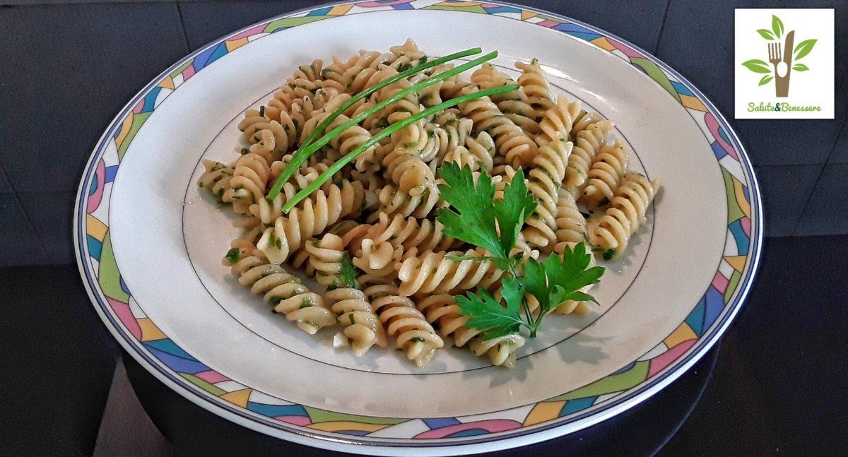 Pasta Erba Cipollina Prezzemolo E Zenzero Le Ricette Di Anna Maria