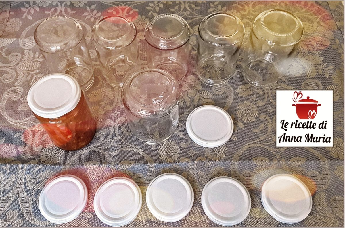 Come Sterilizzare Vasetti Per Conserve come sterilizzare i vasetti di vetro - le ricette di anna maria